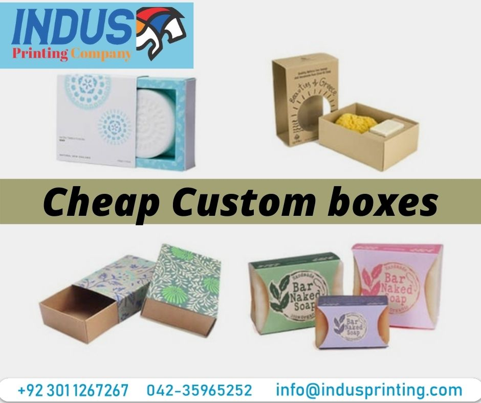 Tips to Choosing the Best Cheap Custom Boxes Service