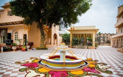 Chomu Palace for Destination Weddings in Jaipur