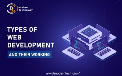 Types of Web Developers and their Working