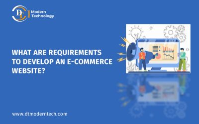 What are the requirement to Develop an E-commerce Mobile App?