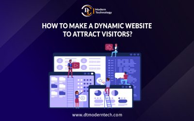 How to make a Dynamic website to Attract Visitors?