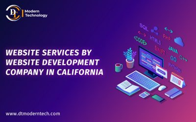 Website services by Website Development Company in California